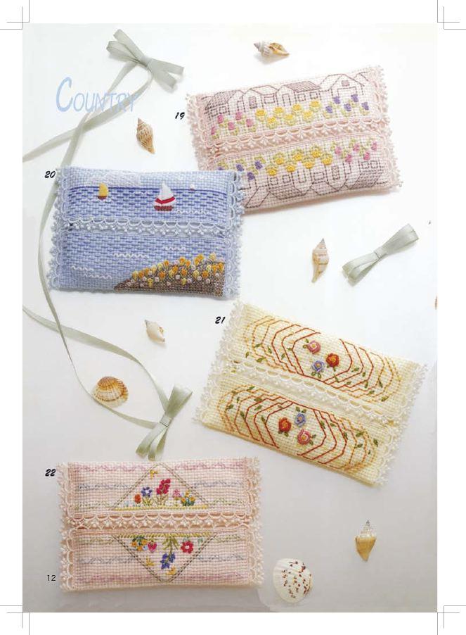 户冢贞子(19)可爱又时髦的刺绣图案集100